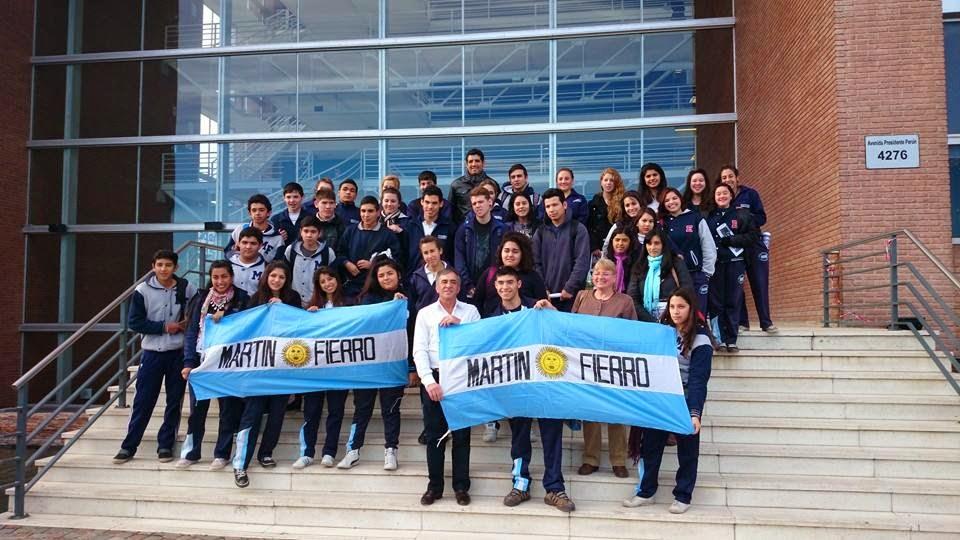 NOTA DESTACADA: Alumnos de la Esc Martín Fierro visitaron el Palacio Municipal Malvinas Argentinas