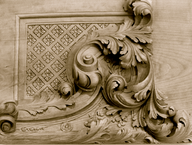 Acanthus Leaves Carving Patterns