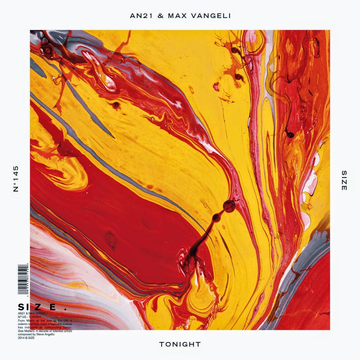 AN21 & Max Vangeli - Tonight - Single  Cover