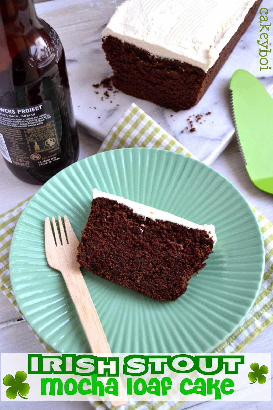 Cakeyboi: Irish Stout Mocha Loaf Cake