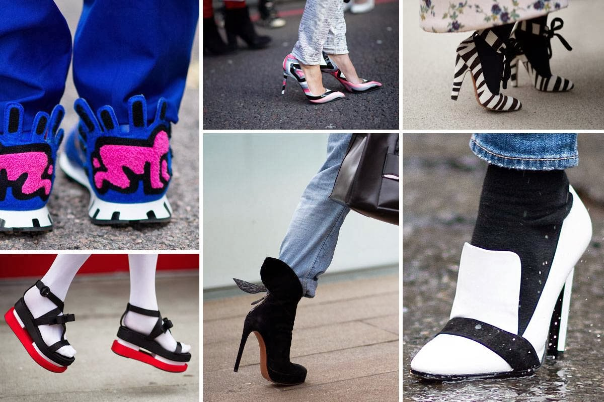 street style shoes fashion week 2014 in NY