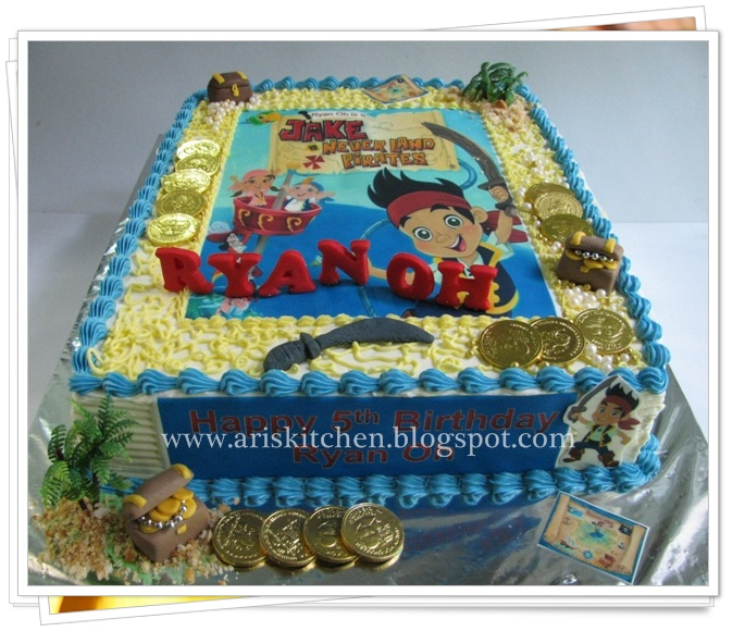 Dangel Cakes Jake And The Neverland Pirates Cake