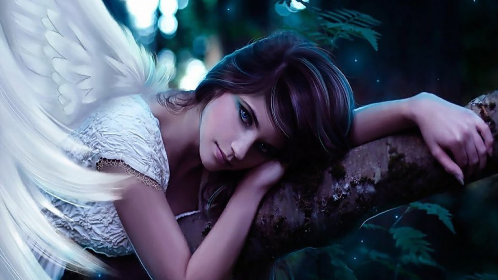 Best desktop hd wallpaper angel photo wallpapers - Angel girl wallpaper ...
