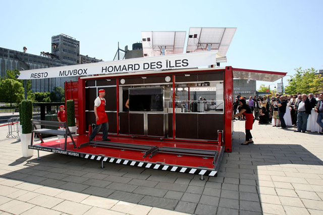 Muvbox: cafeteria em contêiner reciclado
