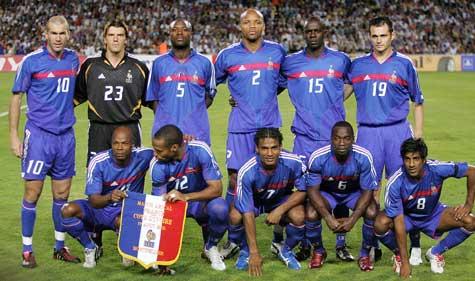 jugadores de la seleccion francesa: