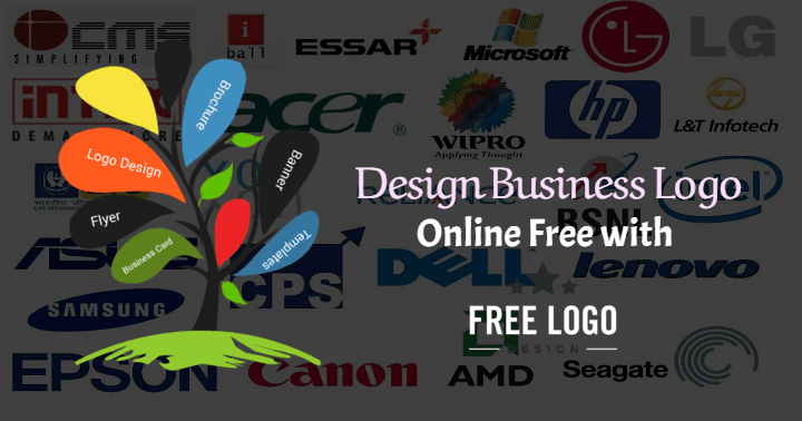 Design a business logo free online