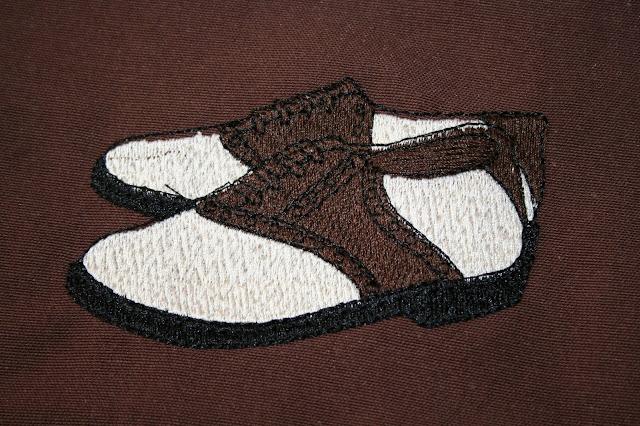 Entre agujas y canillas la mar de bordados bolsas de - Como guardar zapatos ...