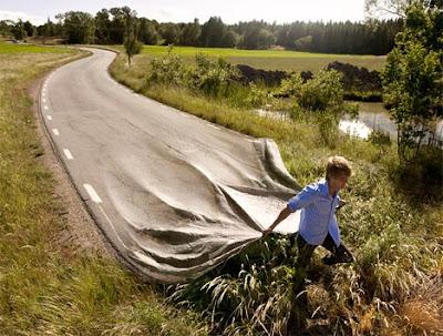 road,blanket