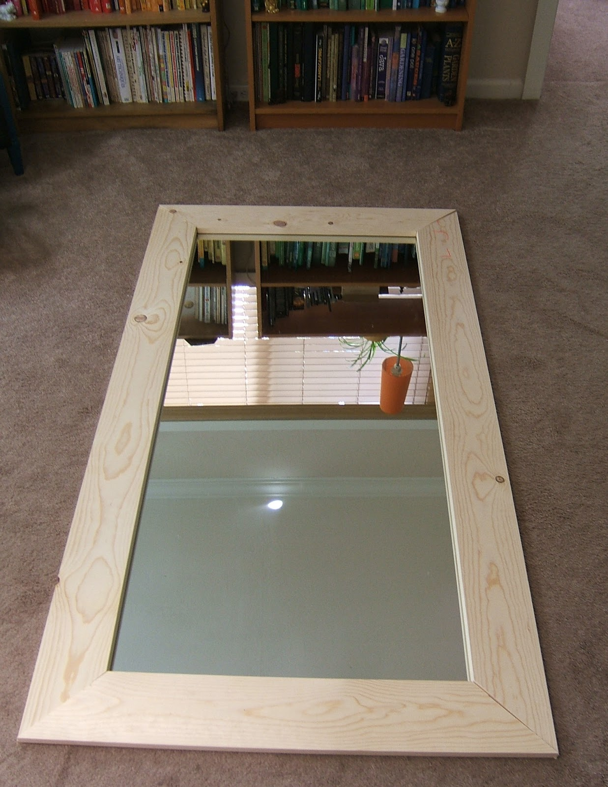 Looks good make any adjustments you need to if they don 39 t for Framed floor mirror