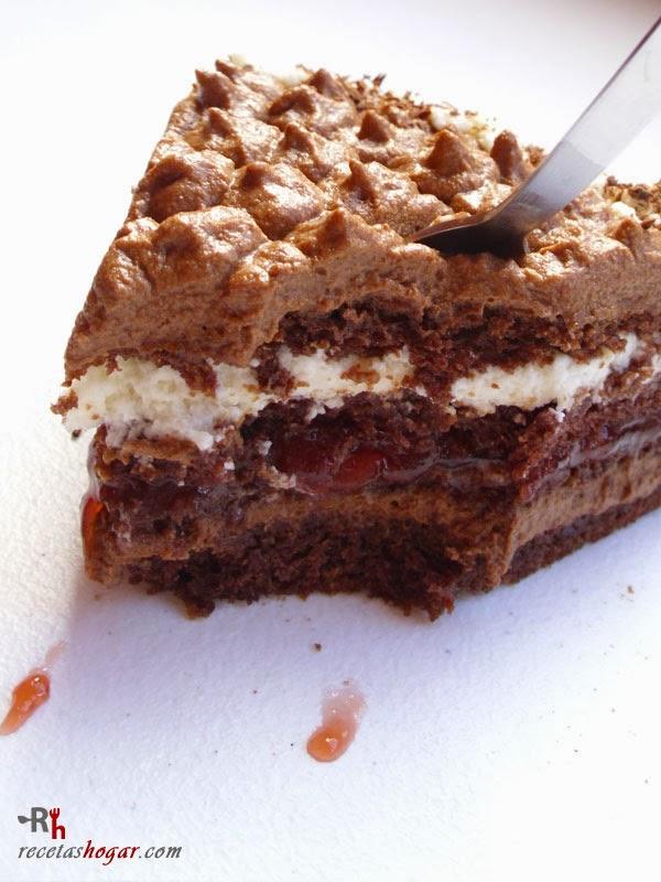Tarta de trufa fresca (chocolate y nata)-portada-3