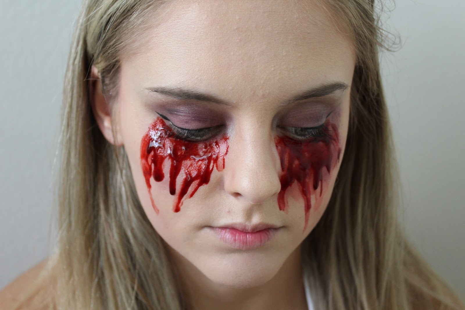 Earth to Kace: BLOGTOBER DAY 3: BLOODY MARY MAKEUP TUTORIAL
