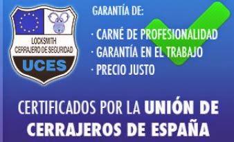 cerrajería homologada en Vélez Málaga