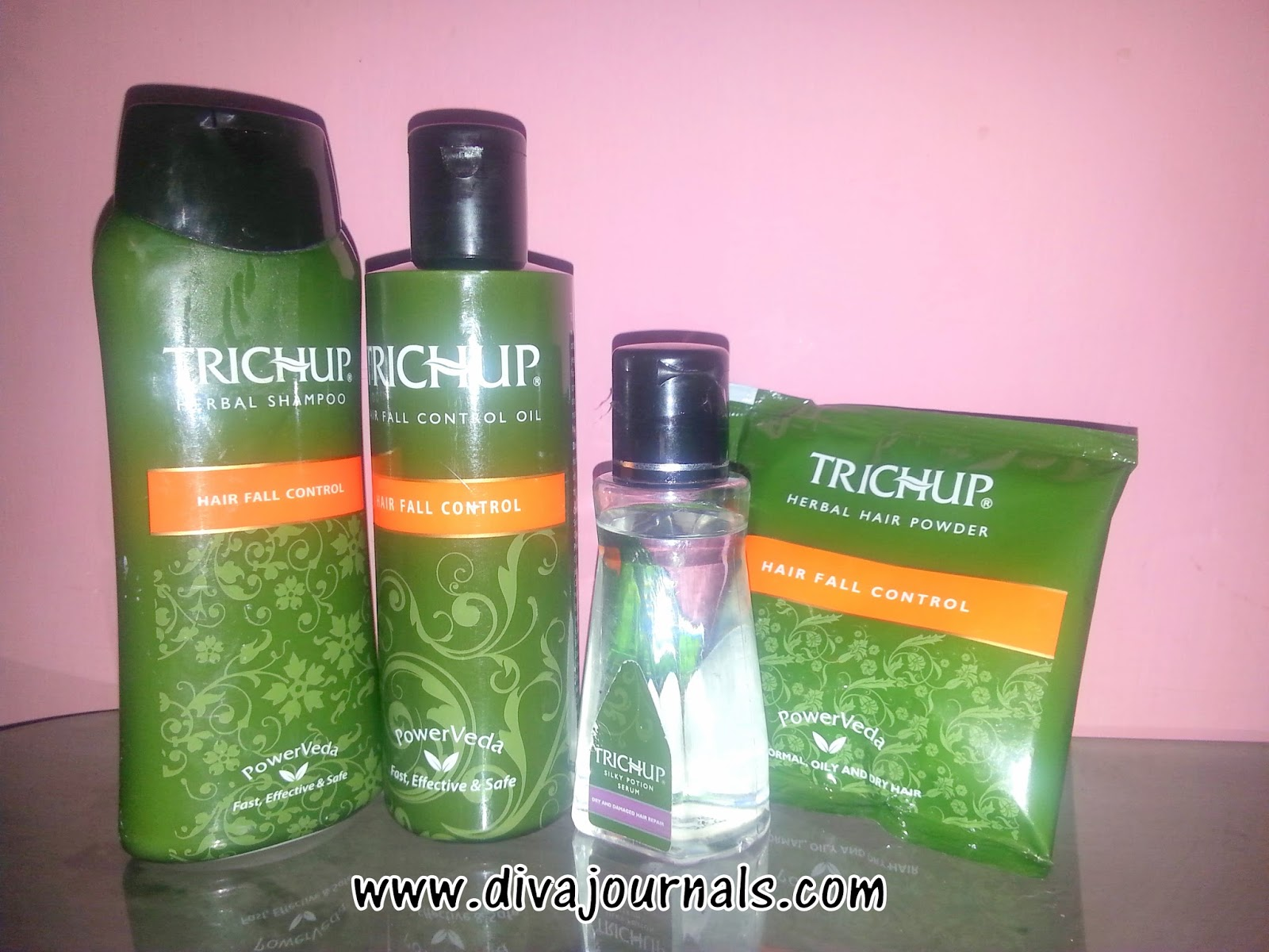 Trichup Hair Fall Control Kit Review