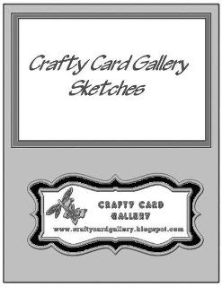 Sketch Hop at the Crafty Card Gallery