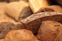Pane con l'uvetta preparato in casa