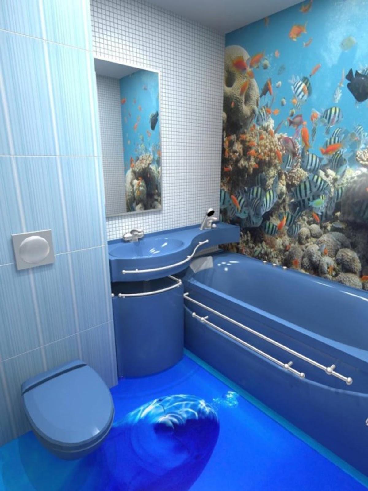 Пол в ванной комнате дизайн