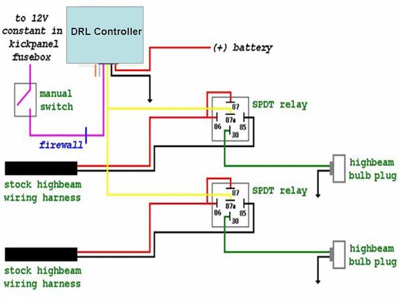 wiring relay lampu kereta wiring center u2022 rh matelab co Relay Wiring Schematic 11 Pin Relay Wiring Diagram