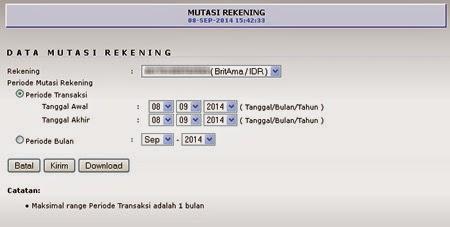 Cara Cek Rekening Koran BRI Internet Banking