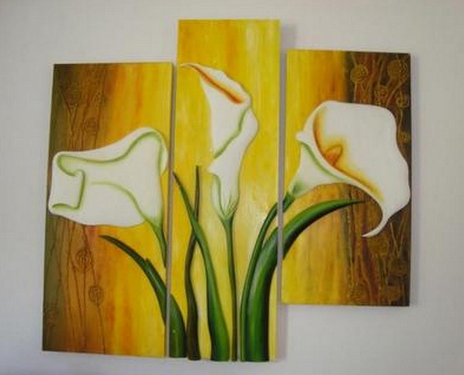 cuadros modernos pinturas y dibujos galer a de flores