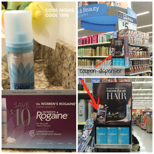 cool moms cool tips women's rogaine in store coupon