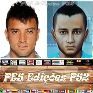 Felipe Anderson (Lazio) e Brasil PES PS2