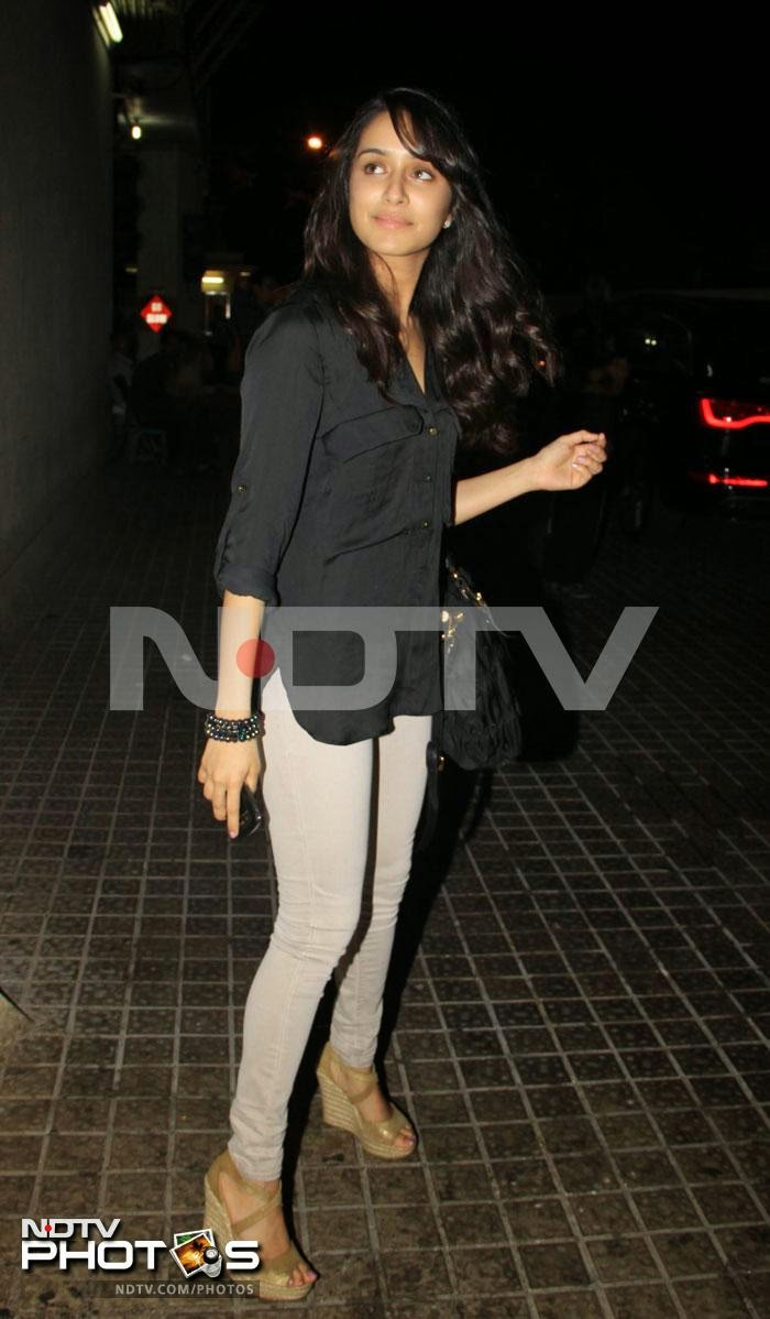 Shraddha Kapoor at the special screening for Shootout at Wadala