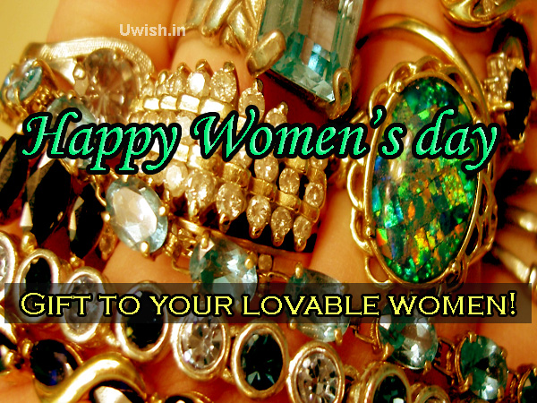 Gifts to your lovable women. Happy Women's Day