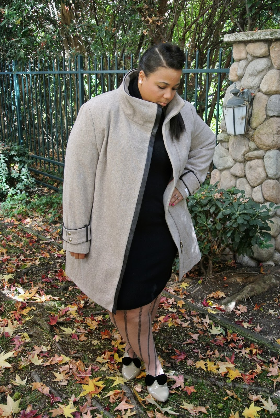 Plus Size blog, plus size coats, Calvin Klein