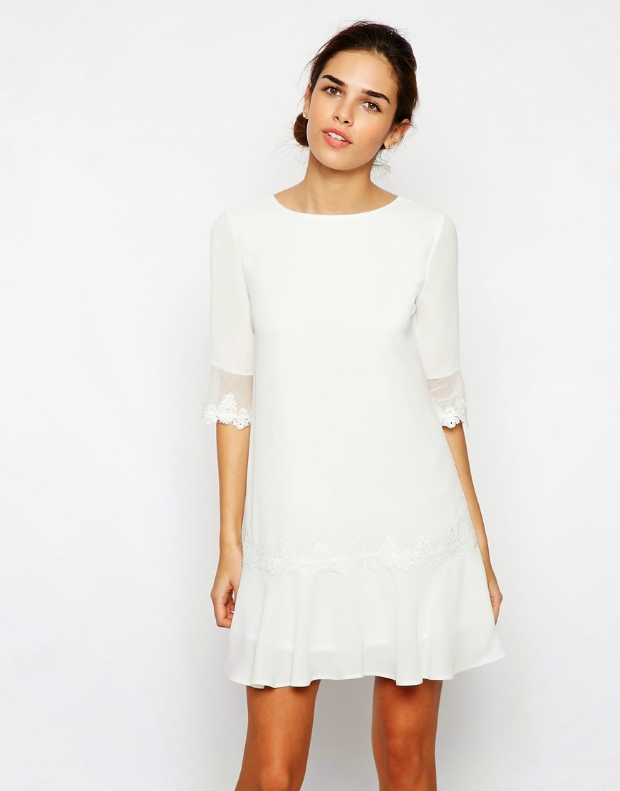 elise ryan white lace dress, elise ryan white dress,