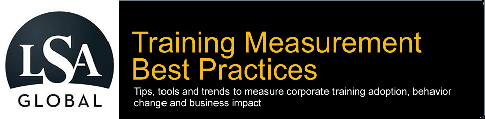 Training Measurement Best Practices