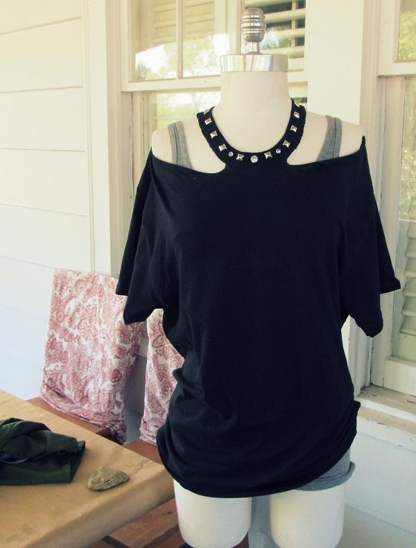 переделка одежды своими руками, что можно сделать из старой футболки, поделки из старых футболок