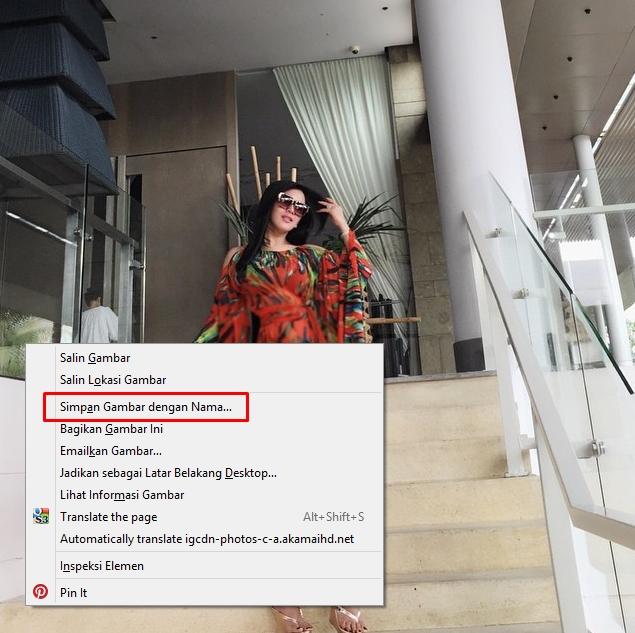 Cara Download Foto di Instagram Orang Lain Lewat PC Tanpa APK dengan Online