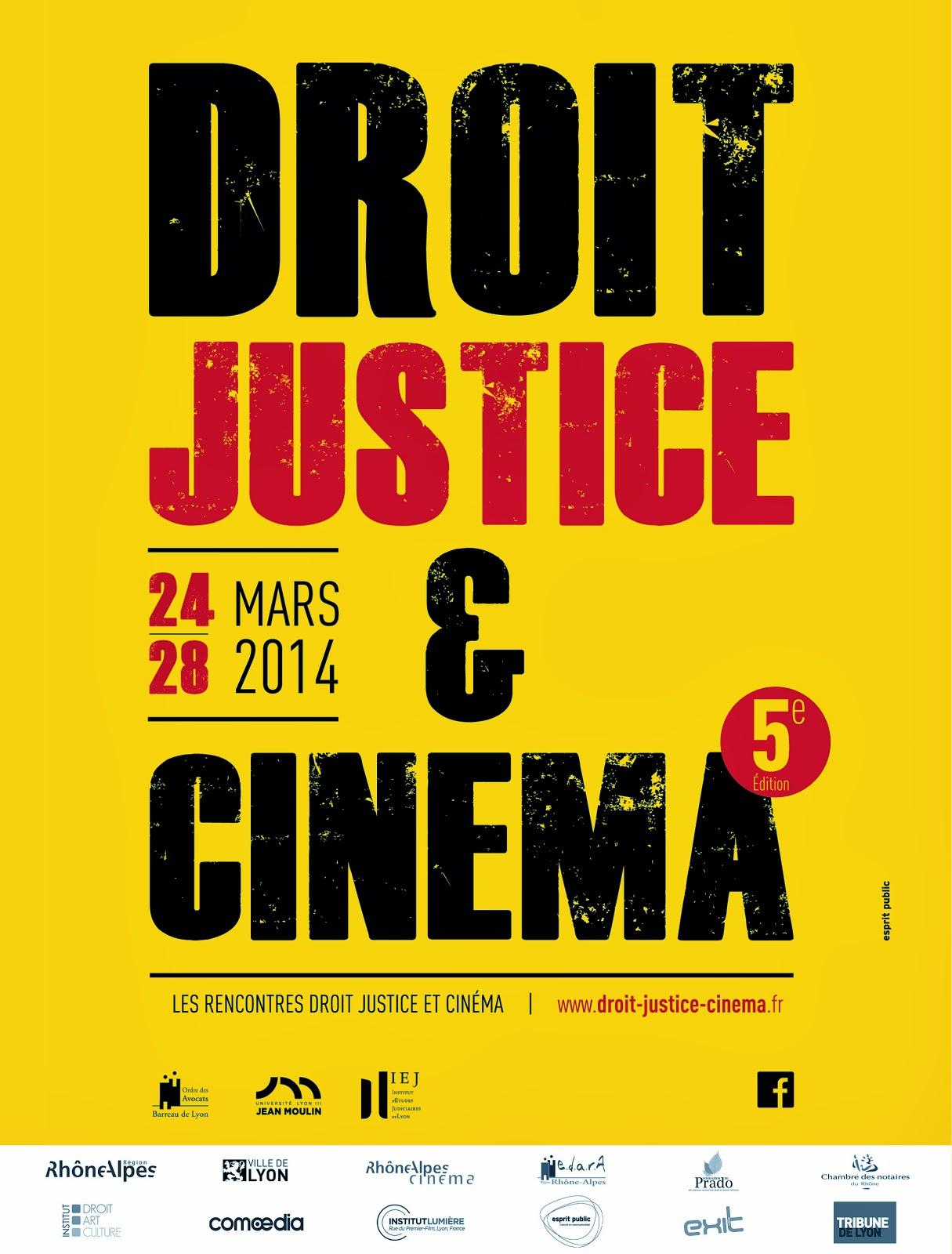 Rencontre droit justice et cinema 2017
