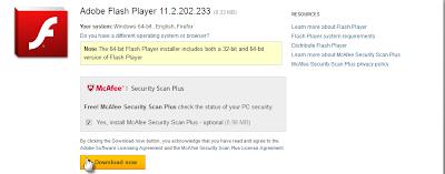 برنامج فلاش بلاير Flash Player