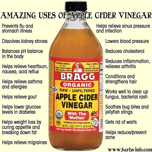 bragg apple cider vinegar benefits