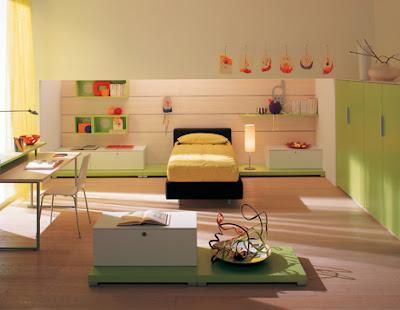 Ni o en casa dormitorios infantiles con dise os modernos de berloni - Dormitorios infantiles modernos ...