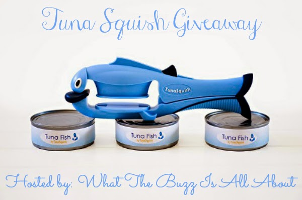 Tuna Squish Can Opener Giveaway