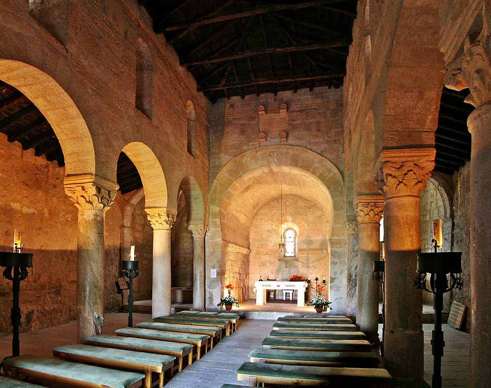 Baños Romanos Toledo:Lugares Sacros: La iglesia de San Juan de Baños