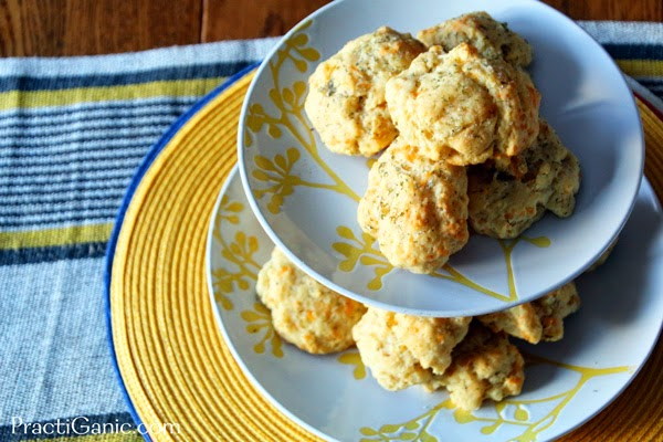 Spicy Sour Cream Biscuits
