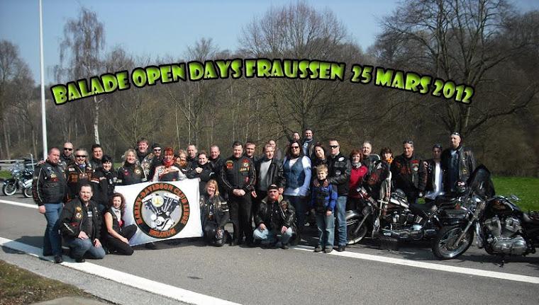 Balade Open days