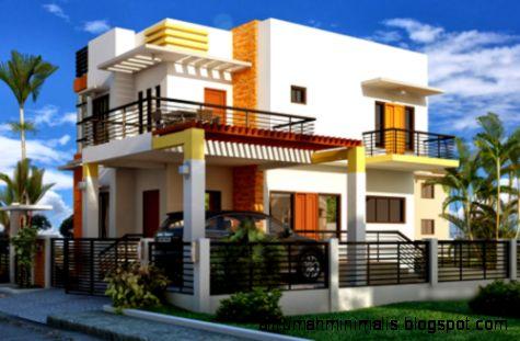 Model Gambar Desain Rumah Mewah Minimalis