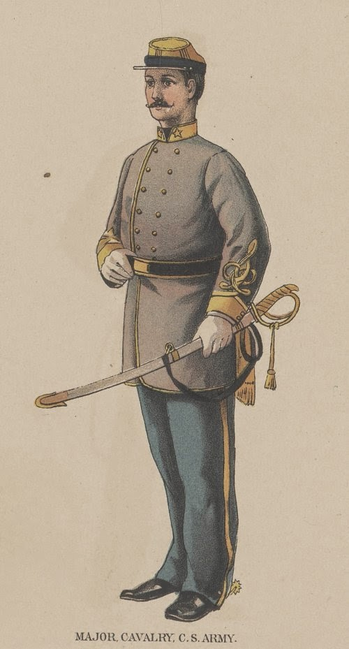 Confederate Major of Cavalry