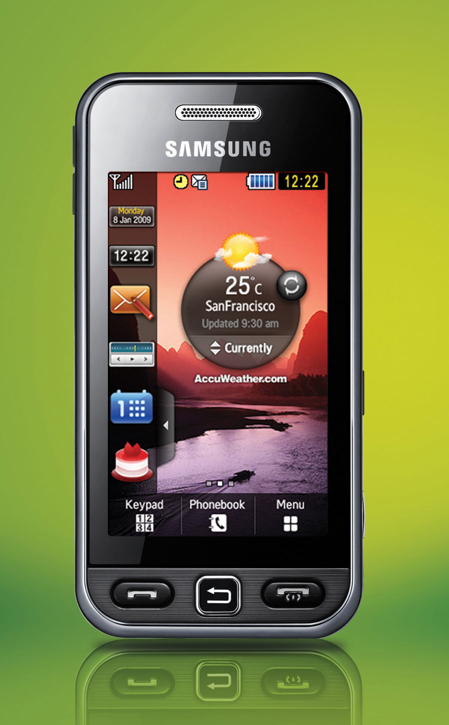 samsung touch screen star the latest mobile phones. Black Bedroom Furniture Sets. Home Design Ideas