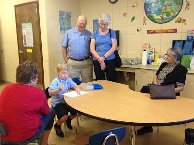 Montgomery Catholic's Holy Spirit Campus Welcomes Grandparents 1