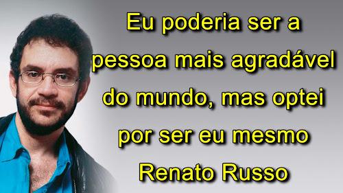 Frases Renato Russo e Legião Urbana