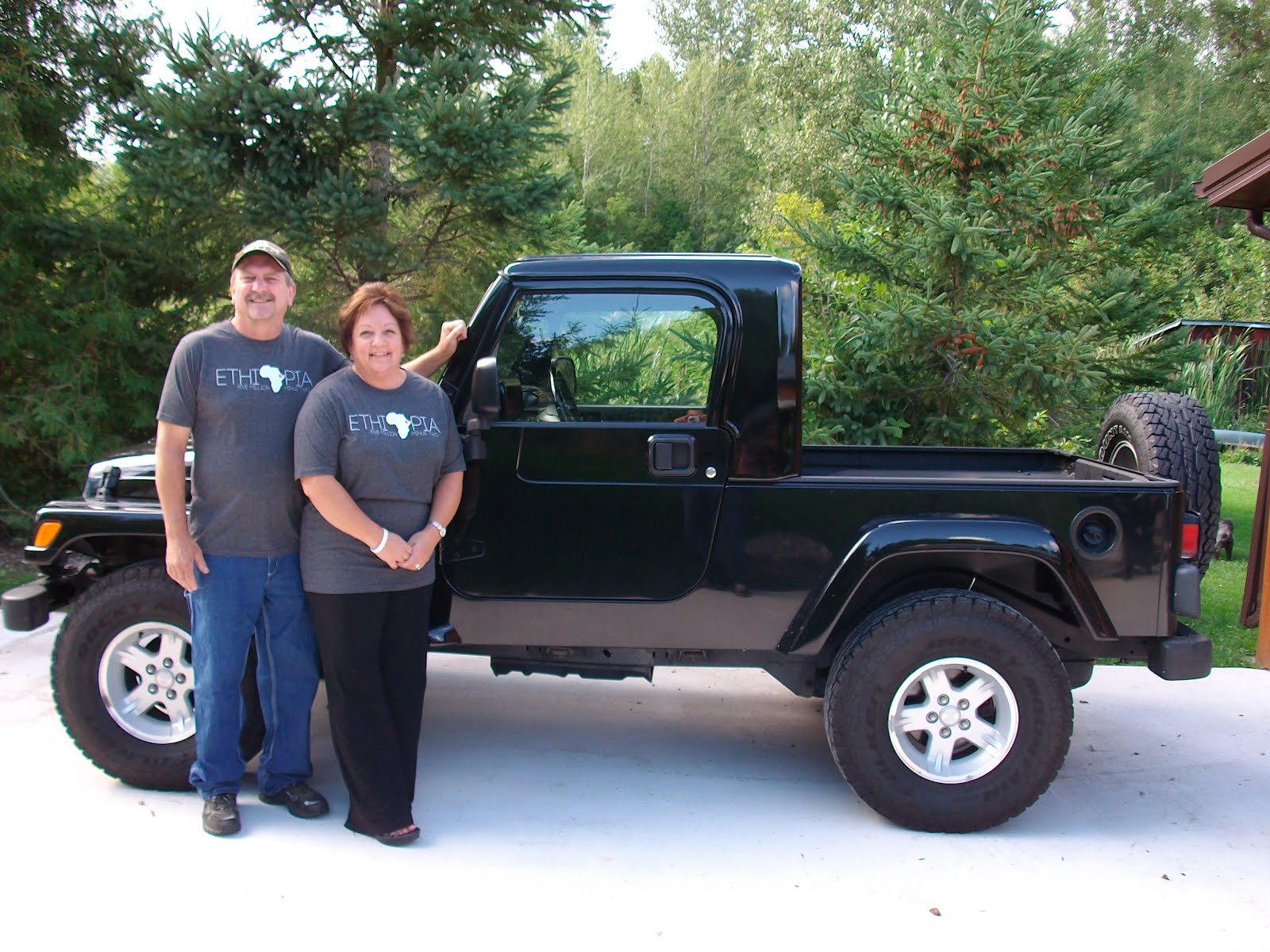 An Ethiopian Adoption Story The Blaine Addition Jeep JK8 Project