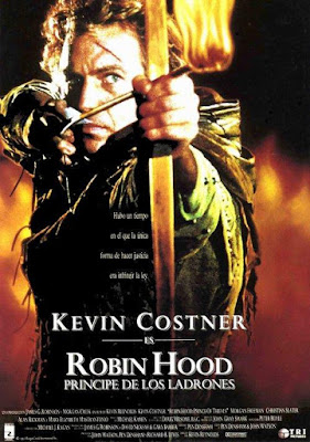 Robin Hood Prince Of Thieves 1991 DVD R1 NTSC Latino