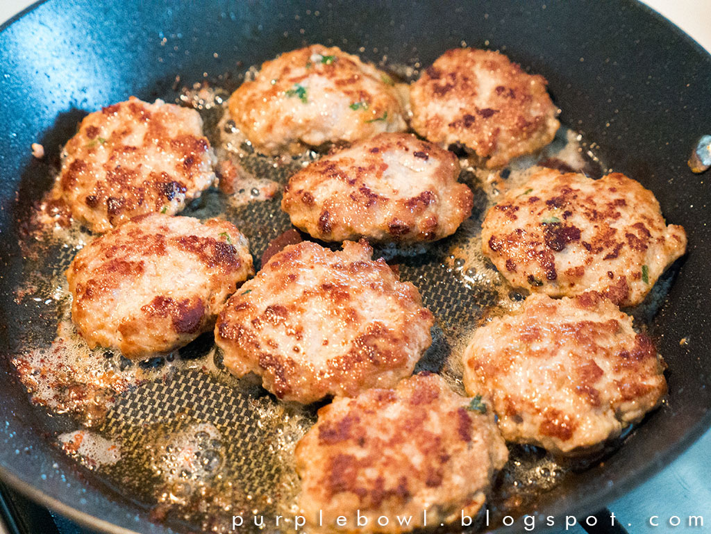 Asian pork patty recipe