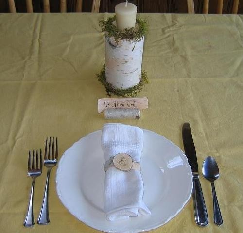 Table Settings For Weddings