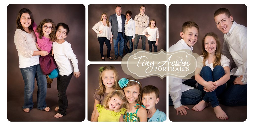 Family Portrait Colors Family Portraits